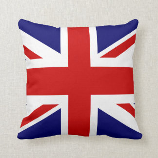 British flag throw pillow | Union Jack design Cushions