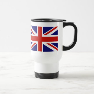 British flag travel mug