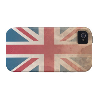 British Flag, (UK, Great Britain or England) Case-Mate iPhone 4 Cases