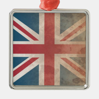 British Flag, (UK, Great Britain or England) Christmas Tree Ornament