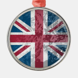 British Flag, (UK, Great Britain or England) Christmas Ornament