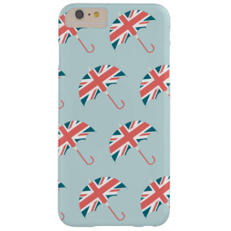 British Flag Umbrella Pattern Barely There iPhone 6 Plus Case