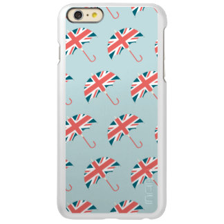 British Flag Umbrella Pattern iPhone 6 Plus Case