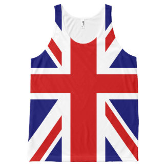 British flag Union Jack All-Over Print Tank Top