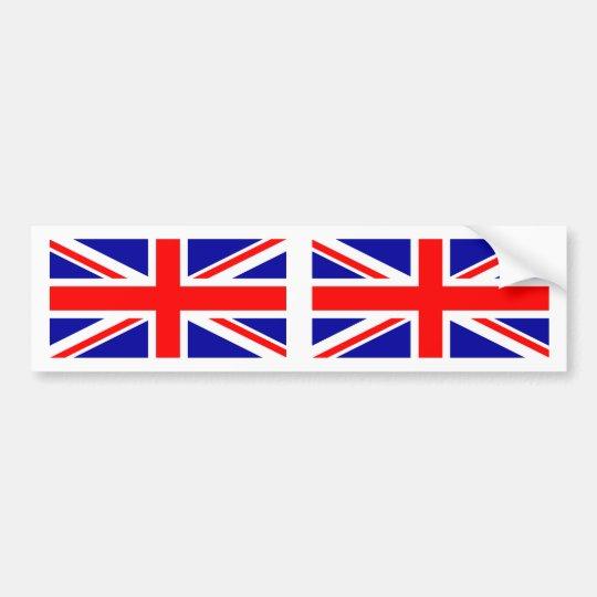 British Flag Union Jack Bumper Sticker