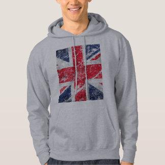 British Flag / Union Jack Flag / Union Flag Hooded Pullovers