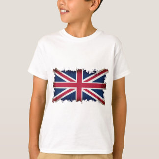 British Flag, Union Jack, Patriotic Grunge T-Shirt