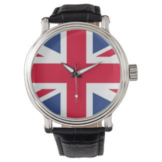 British Flag wrist watch