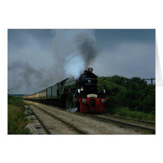 "British ""Flying Scotsman"" on tour near Parsons, KS Card"
