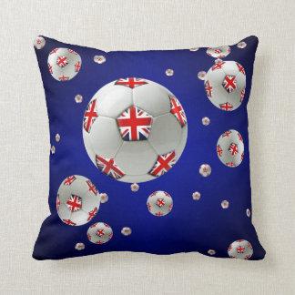 British football fans football ball pillows