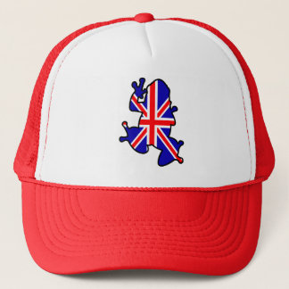 British Frog Trucker Hat