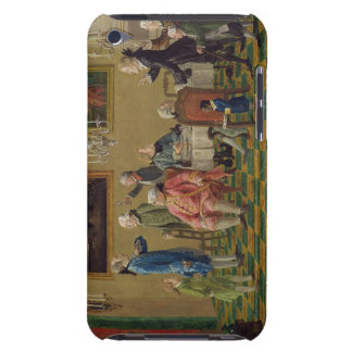 British gentlemen at Sir Horace Mann's home in Flo Barely There iPod Covers