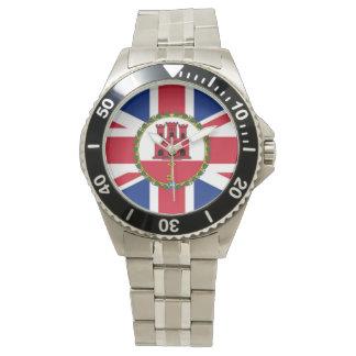 British/Gibraltar Flag Watch