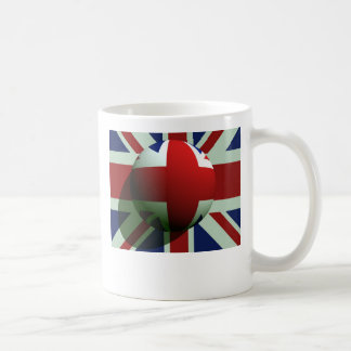 British Globe Flag Coffee Mugs