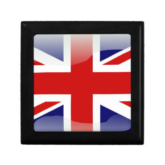 British glossy flag gift box