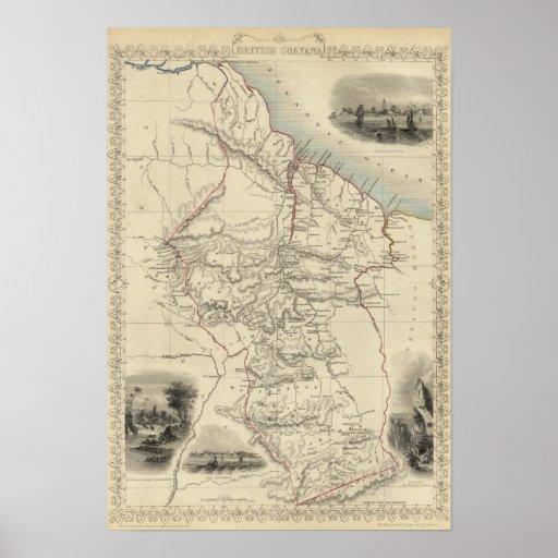 British Guayana Print