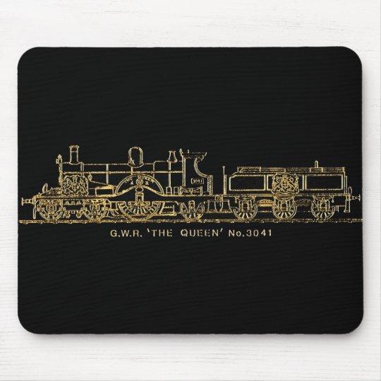 "British GWR Steam Train,""The Queen"",3041, Black Mouse"