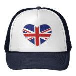 British Heart Mesh Hat