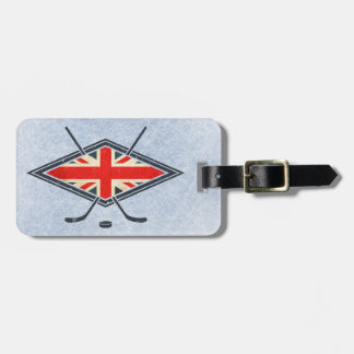 British Ice Hockey Flag Luggage Tag