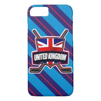 British Ice Hockey Flag Mobile Case