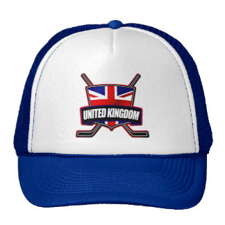 British Ice Hockey UK Adjustable Hat Cap