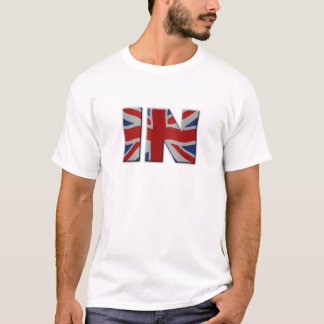 British In/Out EU referendum. IN with Union Jack f T-Shirt