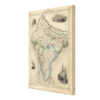 British India Canvas Print