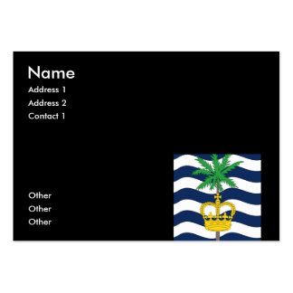 British Indian Ocean Territories Pack Of Chubby Business Cards