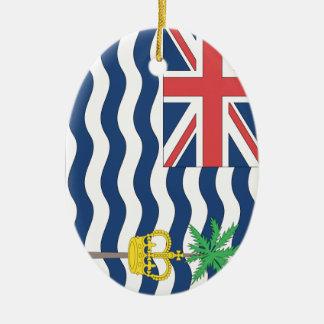 British Indian Ocean Territories Ceramic Oval Decoration