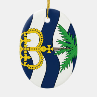 British Indian Ocean Territories Christmas Tree Ornament