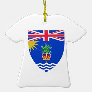 British Indian Ocean Territory Coat of Arms Christmas Ornament