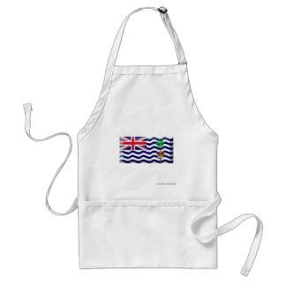 British Indian Ocean Territory Flag Jewel Standard Apron