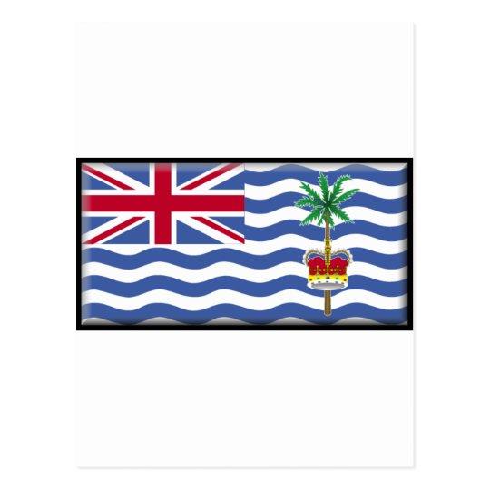 British Indian Ocean Territory Flag Postcard