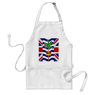 British Indian Ocean Territory High quality Flag Adult Apron