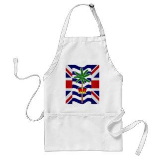 British Indian Ocean Territory High quality Flag Standard Apron