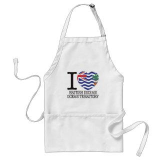 British Indian Ocean Territory Love v2 Standard Apron