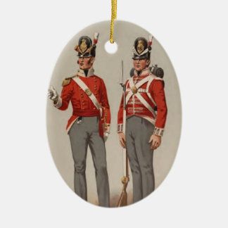 British Infantry Christmas Ornament
