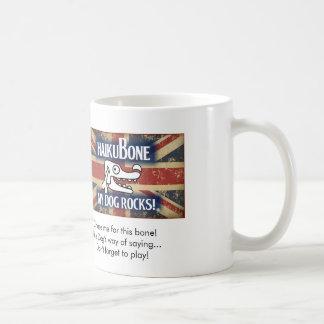 """British Invasion Logo """"Don't forget to play!"""" Basic White Mug"""