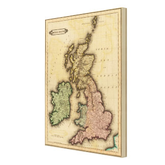 British Islands 2 Canvas Print