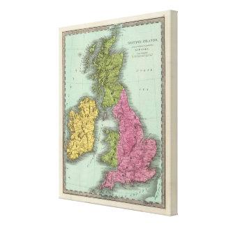 British Islands 3 Canvas Print