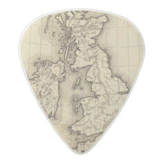 British Islands Acetal Guitar Pick