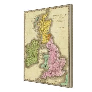 British Islands Canvas Print