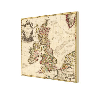 British Islands, England, Ireland Canvas Print