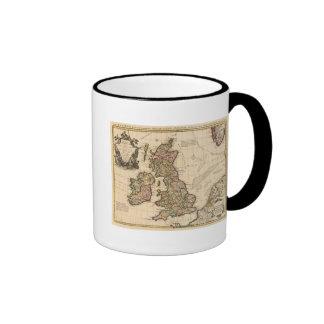 British Islands, England, Ireland Ringer Mug