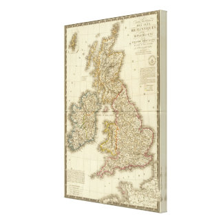 British Isles 10 Canvas Print