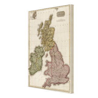 British Isles 11 Canvas Print