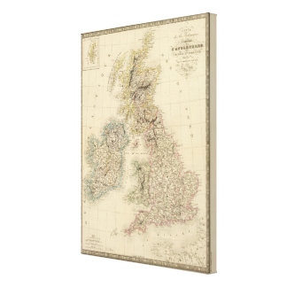 British Isles 2 Canvas Print