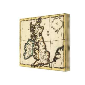 British Isles 3 Canvas Print