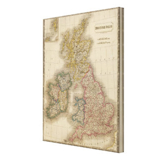 British Isles 4 Canvas Print