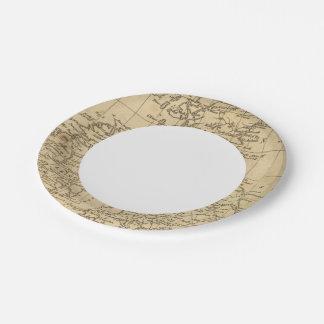British Isles 5 7 Inch Paper Plate